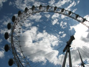 The Eye: Another great ride in London